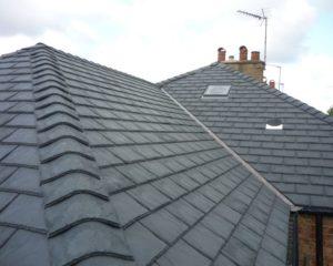 new slate tile roof